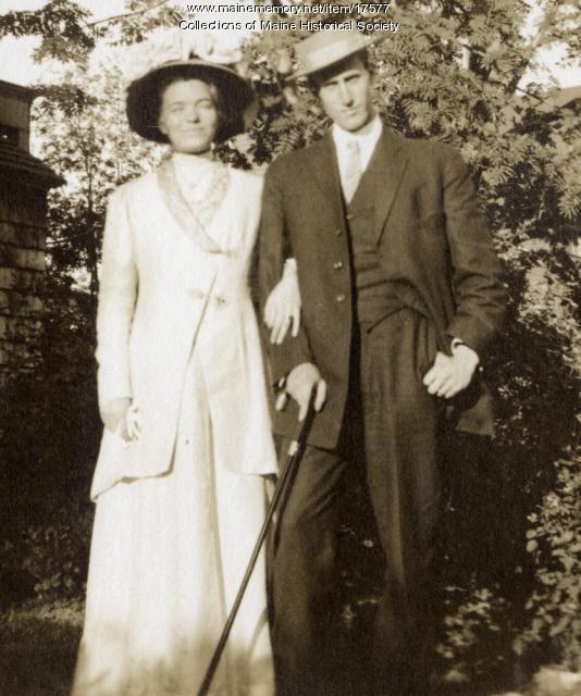 Margaret and Neal Allen, Portland, 1909