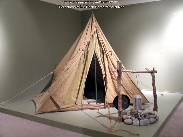 Canvas tent, ca. 1940