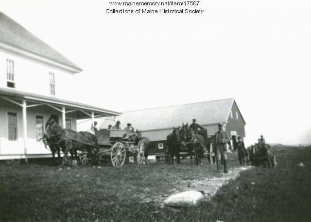 Teams at Grant Farm, 1894