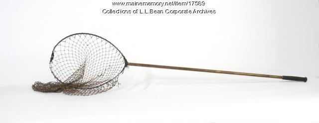 Fish net, ca 1942