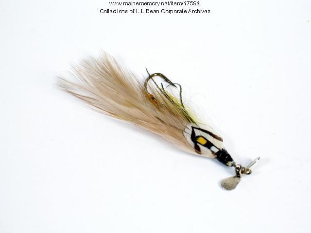 Shimmer fly, ca. 1950