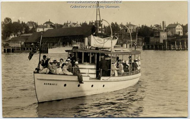 Ferry Norman II, Boothbay Harbor, ca. 1918