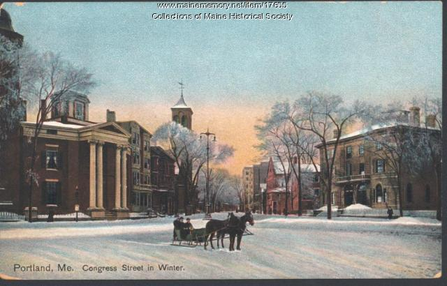 Congress Street, Portland, ca. 1900