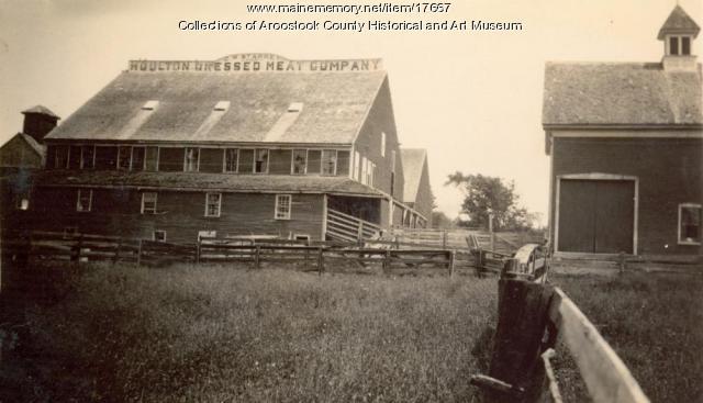 Houlton Dressed Meat Company, Houlton, c. 1895