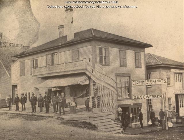 Union Square Hotel, Houlton, c. 1890