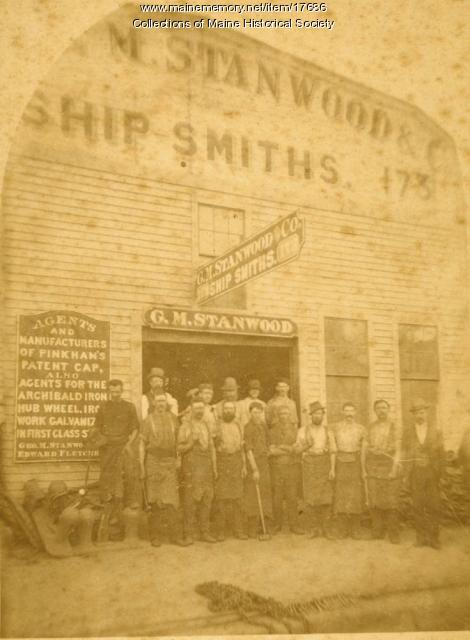 G. M. Stanwood & Co., Portland, ca. 1880