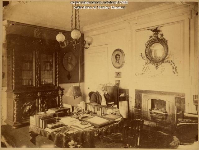 Longfellow in his Study, Cambridge, ca. 1875