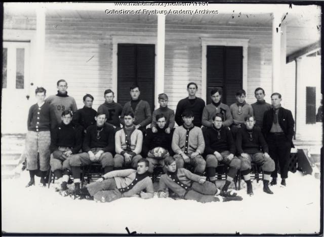 Football team, Fryeburg Academy, 1908