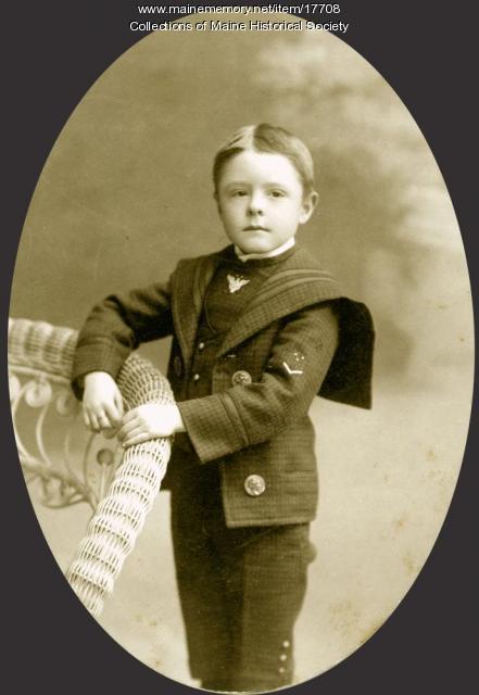 Arthur H. Stanwood, Brunswick, ca. 1899