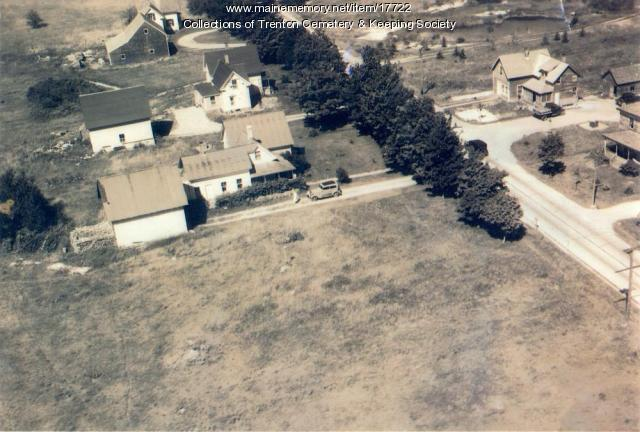 Aerial View of the Kidder Moore House