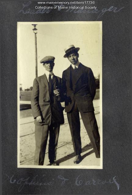 Cape Theatre Orchestra members, 1913