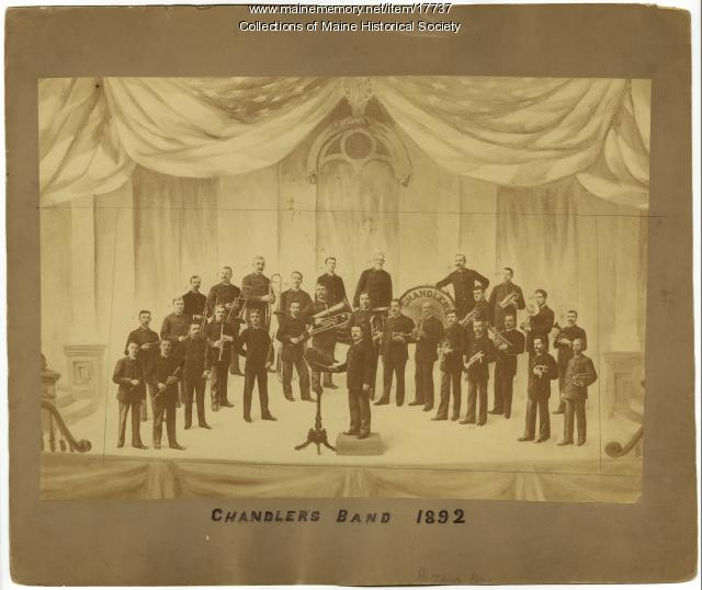 Chandler's Band, Portland, 1892