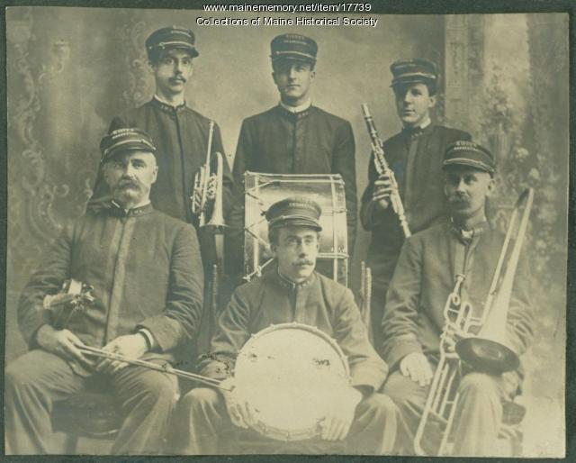 Libby's Orchestra, Kennebunk, ca. 1910