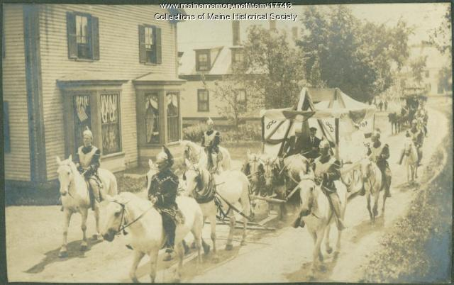 Old Home Week parade, Kennebunk, 1907