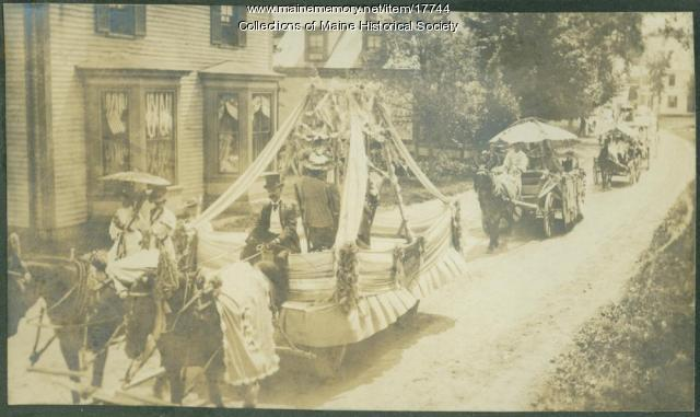 Floats, Kennebunk parade, 1907
