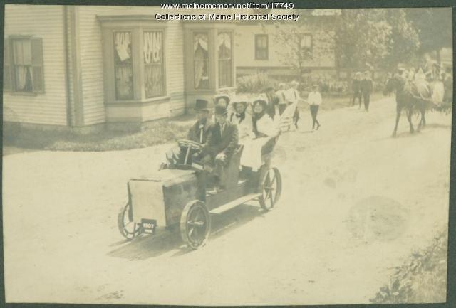 Motor car, Kennebunk, 1907