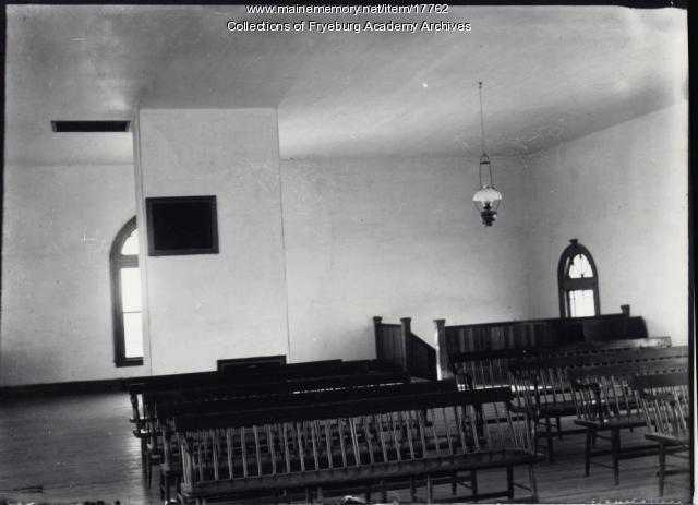 Fryeburg Academy chapel interior