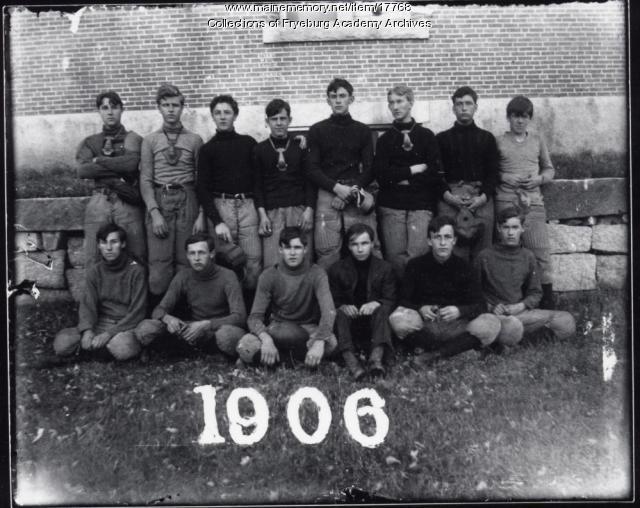 Fryeburg Academy Football Team, 1906