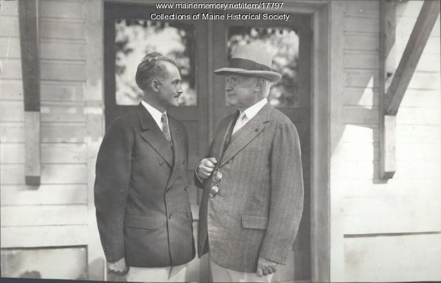 Francis Findlay, Walter Damrosch, Eastern Music Camp, ca. 1931