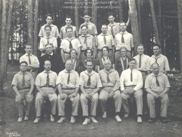Faculty, Eastern Music Camp, Sidney, 1931