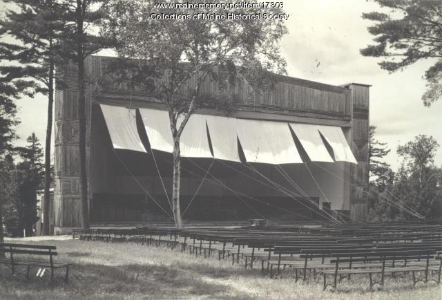 The Bowl, Eastern Music Camp, ca. 1932