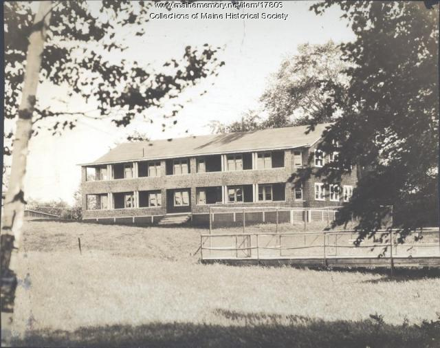 Girls' Lodge, Eastern Music Camp, Sidney, ca. 1931