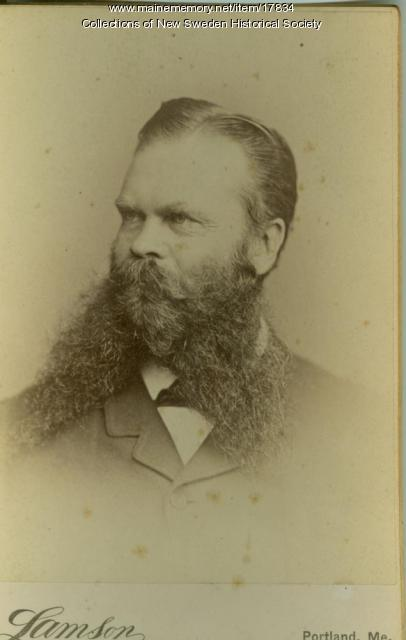 William W. Thomas, New Sweden, ca. 1900