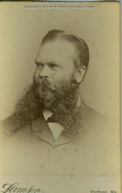 William W. Thomas, New Sweden, ca. 1900
