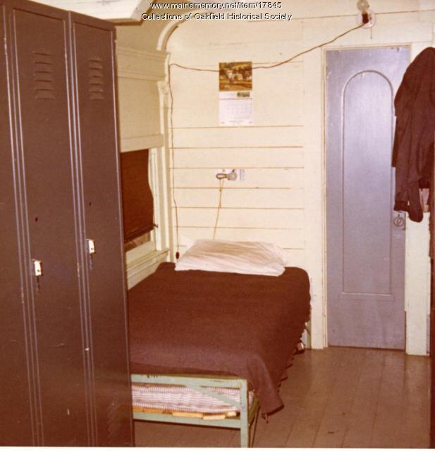 Bangor and Aroostook Railroad Outfit Car Interior, c. 1965