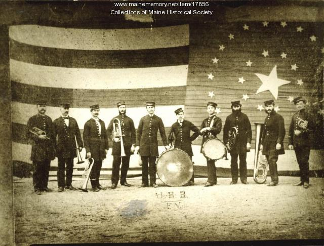 Union Brass Band, Ferry Village, 1873