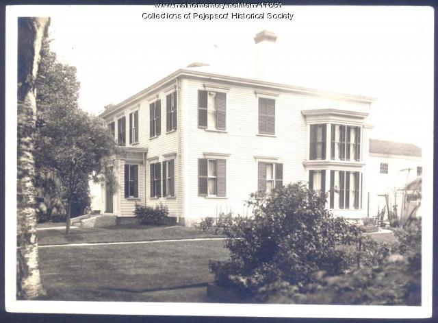Daniel Stone house, Brunswick, ca. 1920
