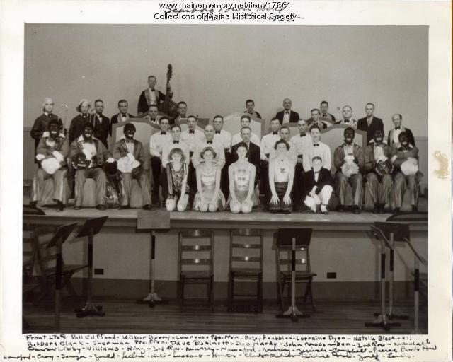 Cape Elizabeth Fire Department Band, 1936