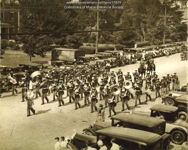 Fifth Infantry Band, ca. 1923
