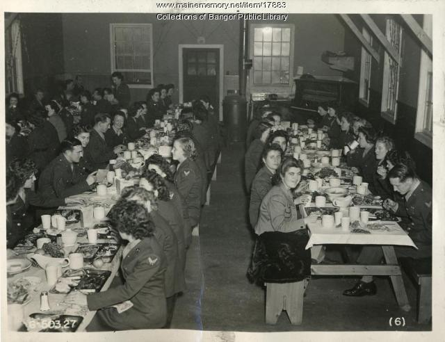 Dining Hall, Dow Field, 1944