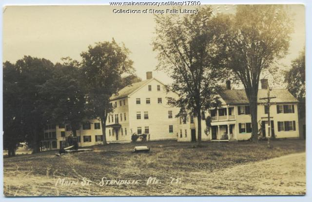 Tompson house, Standish, ca. 1910