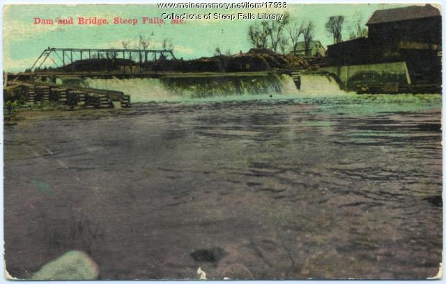 Androscoggin Pulp and Paper Company, Steep Falls, ca. 1910