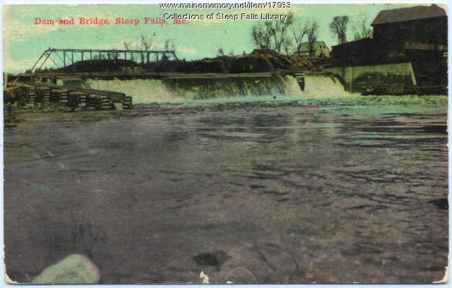 Androscoggin Pulp and Paper Company, Steep Falls, ca. 1910