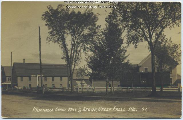 Mitchell Grain Mill and Store, c. 1930