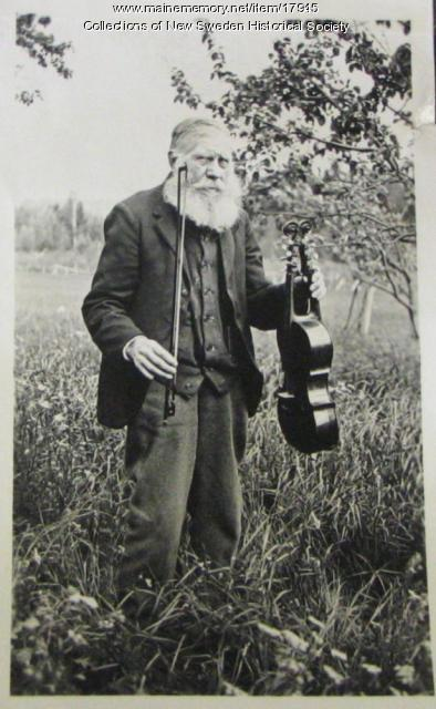 Nils E. Olson, New Sweden, ca. 1900