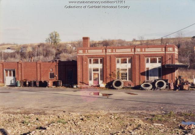 Bangor and Aroostook Railroad Station, Caribou, c. 1990