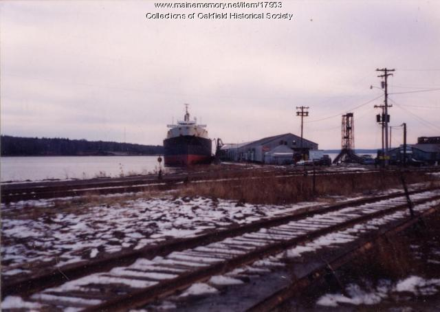Sealift/China Sea (AOT-170) at Searsport, c. 1990