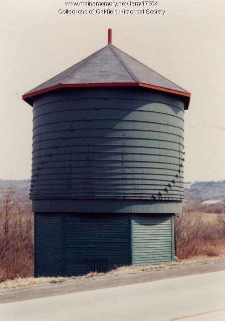 Frenchville Water Tower, c. 1990