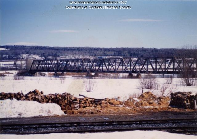 Van Buren International Bridge, ca. 1990