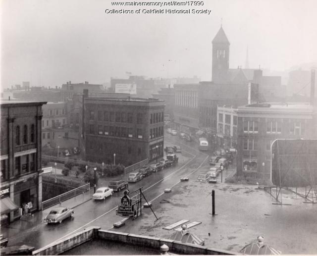 Downtown, Bangor, c. 1955