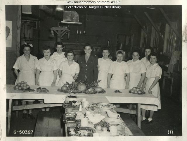 Dining Hall Staff, Dow Field, 1944