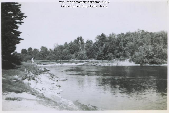 saco river at steep falls