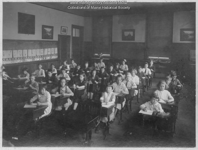 Elementary students, Portland, ca. 1923