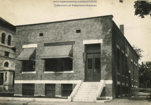 Telephone Central Office Building, Lewiston, 1903