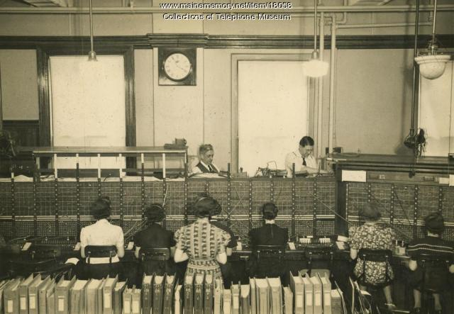 Switchboard operators, 1939