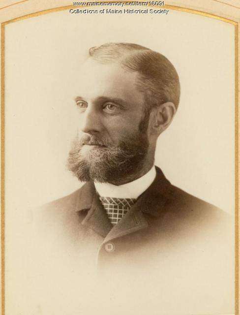 Henry Harrison Lowell, ca 1880